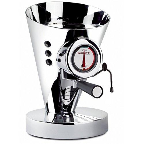 Casa Bugatti 15-DIVACR Kaffeevollautomat Diva, chrome