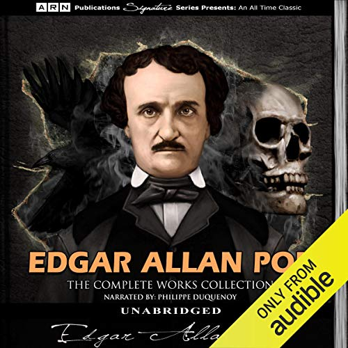 Edgar Allan Poe - The Complete Works Collection cover art