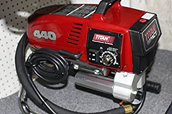 Wagner Spray TECH 805-000 Titan 440 Skid Frame Corded Piston Pump Paint Sprayer 7/8 Hp 0.54 Gpm 3300 Psi