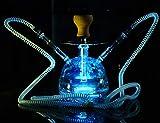 Cachimba Árabe De Control Remoto De 11.2'con Luz LED, Conjunto De Kit Combinado De Cachimba, Conjunto De Cachimba Árabe De Primera Calidad