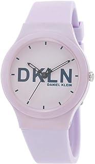 DANIEL KLEIN DKLN Plastic Case Silicon Band Ladies Wrist Watch - DK.1.12411-6