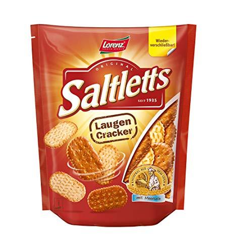 Lorenz Snack World Saltletts Laugencracker, 12er Pack (12 x 150 g)