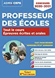 Concours Professeur des écoles - Tout le cours des épreuves écrites et orales - Admissibilité et Admission - CRPE 2020-2021