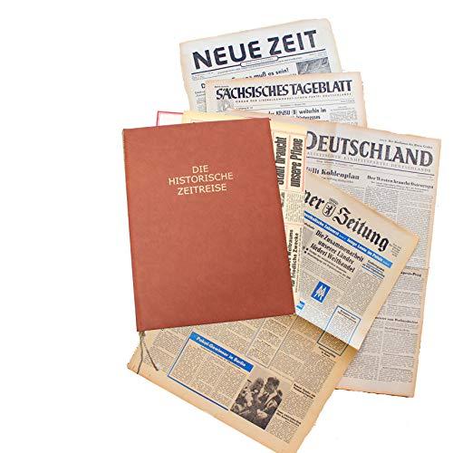 HISTORIA Zeitung aus der ehemaligen DDR vom Tag der Geburt 1970 - historische DDR-Zeitung inkl. Mappe & Zertifikat als Geschenkidee
