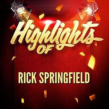 Highlights of Rick Springfield