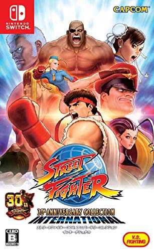 Capcom Street Fighter 30th Anniversary Collection International NINTENDO SWITCH JAPANESE IMPORT REGION FREE [video game]