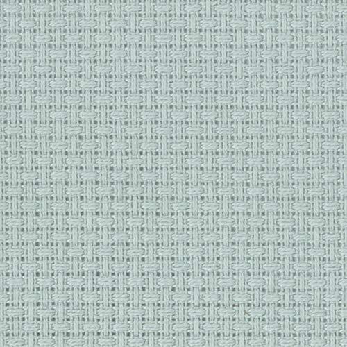 "Zweigart 14ct Aida-18x21"" Needlework Fabric - Confederate Grey"