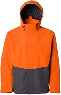 BOSS Orange Mens Urain Relaxed Fit Rain Coat with Hooded Collar