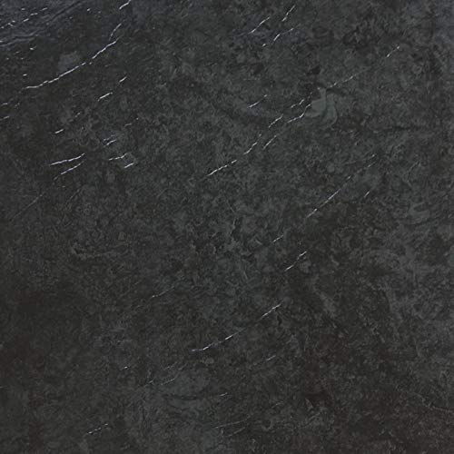 d-c-fix - Selbstklebende Bodenfliesen - Probemuster - 1/2 Fliesenaufkleber, Dark Slate