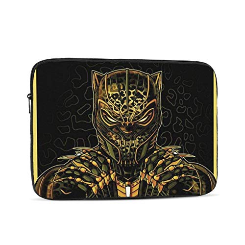 Laptop Sleeve Case- Multi Size Gold Black Panther Notebook Computer Protective Bag Tablet Briefcase Carrying Bag,15 Inch
