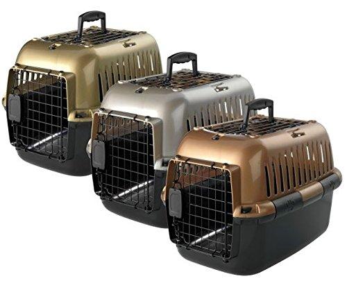Caisse de transport Adventurer deluxe pour chiens et chats - Couleur - Doré