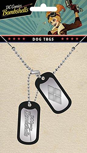 Harley Quinn DC Bombshells Dogtag stahl-matt - Dogtag