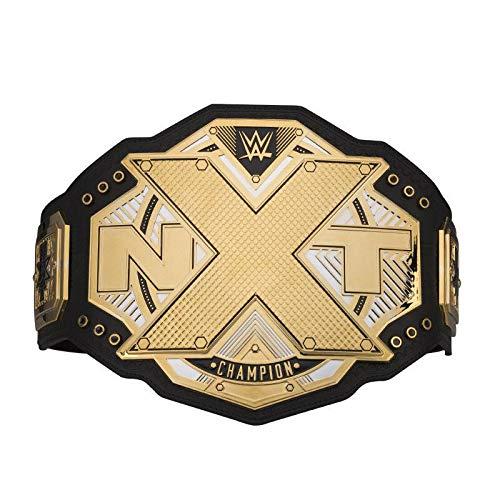 WWE Authentic Wear NXT Championship Commemorative Title Belt Gold