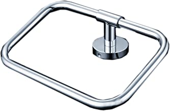 Handdoek ring Copper Hotel Badkamer Keuken Wandmontage Vierkante plank Mode Eenvoudige Plating Proces Milieubescherming Ma...