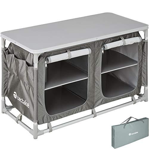 TecTake 800585 Outdoor Camping Küche - Diverse Modelle wähblar - (Typ 4 | Nr. 402922)