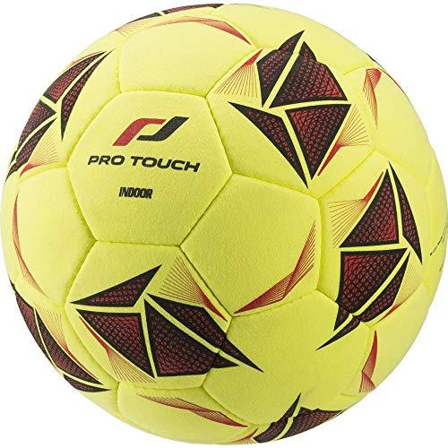 Pro Touch Fußball Force Indoor Ball, Gelb/Schwarz/Rot, 5