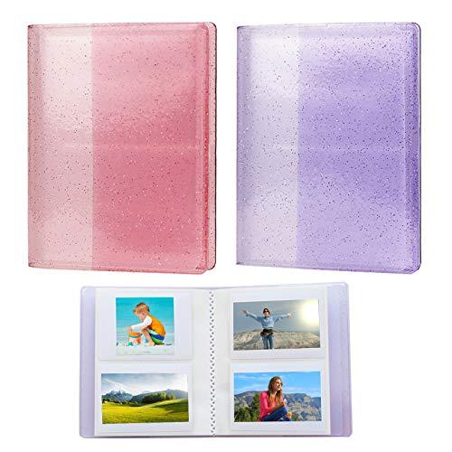 Mini álbum de fotos para Fujifilm Instax Álbum de fotos de notas sin deslizamiento, libro de almacenamiento de fotografías, organizador de protección para Fujifilm Mini, todos los modelos
