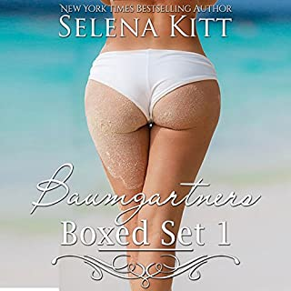 Baumgartners Boxed Set                   By:                                                                                                                                 Selena Kitt                               Narrated by:                                                                                                                                 E.V. Grove,                                                                                        Holly Hackett,                                                                                        Sean Crisden                      Length: 14 hrs and 52 mins     89 ratings     Overall 4.5