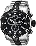 Invicta Men's 5727 Reserve Collection Black Ion-Plated and Stainless Steel Chronograph Watch