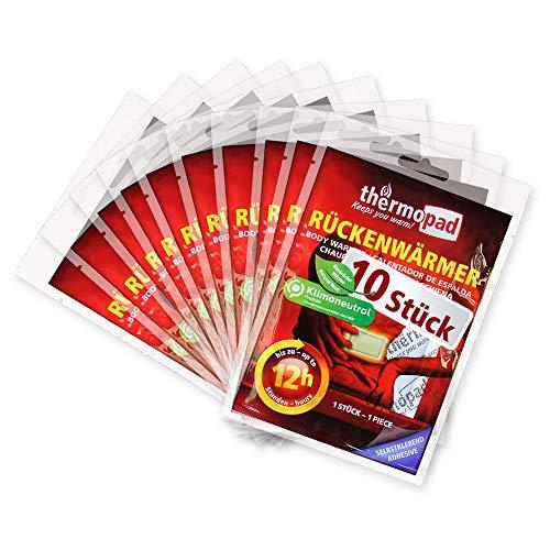 Thermopad Erwachsene Rückenwärmer – DAS ORIGINAL x Wärmepads für 12 Stunden sofort einsatzbereite I Extra...
