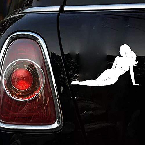 16,9x10,2 cm sexy Mädchen ohne Kleidung Autoaufkleber Mode Styling Auto Aufkleber für Auto Laptop Fenster Aufkleber