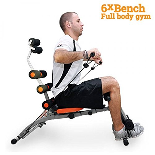 Ab Trainer Wonder Exerciser Core Toner Workout 6xBench Abs Machine Home Gym 2 by 6xBench