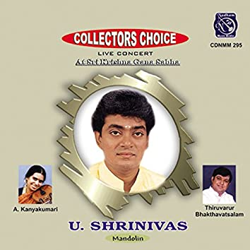 Collectors Choice - U. Srinivas (Live)