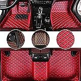 Car Alfombrillas proteger, para Suzuki Celerio Swift / Sport Baleno Jimny Vitara S-Cross X5 Floor Mats Cobertura Completa Todo Frente protección contra Intemperie y Trasera Liner Set,Estilo Accesorios