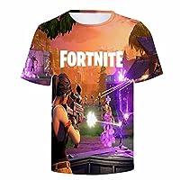 フォートナイトFortnite Tシャツ キッズ服 FORTNITE ティーシャツ 半袖 涼しい 人気ゲーム ロゴ 子供 かっこいい 147Dプリント コスチューム 男の子 女の子 夏服