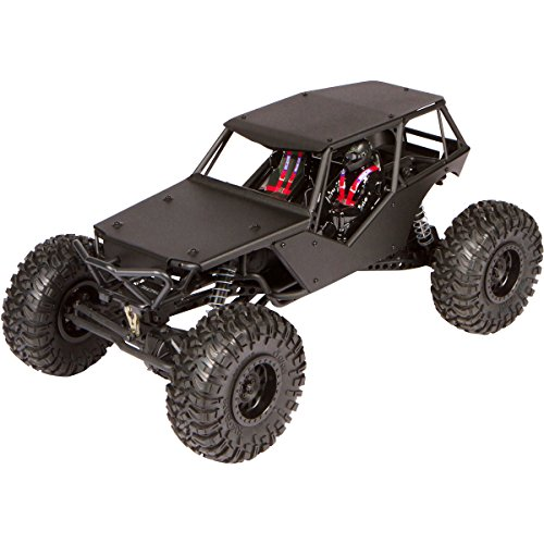 Luxury RC Black Aluminum Axial Racing Wraith Body Panels (with Full Roof)