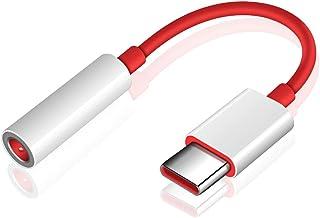 USB C Adaptador Audio, ACOCOBUY AdaptadorAudioJack 3,5 mm, Cable Adaptador de Audio OnePlus 6T Original Compatible con One+ 6T/Huawei Mate 20 Pro/Mate 10 Pro/P20/P20 Pro, Xiaomi Mi 6/8/8 Pro.