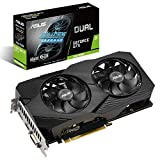 ASUS Dual Nvidia GeForce GTX 1660 Super 6GB EVO Advanced Edition Gaming Grafikkarte (GDDR6 Speicher, PCIe 3.0, 1x HDMI 2.0b, 1x DVI, 1x DisplayPort 1.4, DUAL-GTX1660S-A6G-EVO)