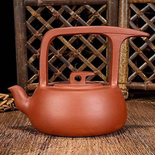 MDYHJDHYQ Teiere Articoli da Regalo Teiera Kung Fu Tea Pot Teiera Gantry Volanti (Color : Purple Mud)