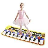 Tappeto Musicale Bambini Nuova coperta da tocco per giocattoli per bambini con 8 modello d...