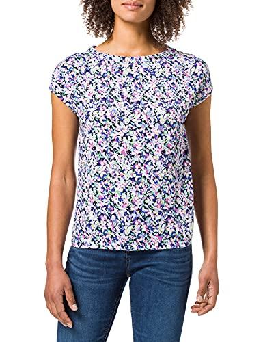 Street One Damen 316273 T-Shirt, Pearl Rose, 46