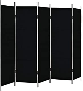 vidaXL Biombo de 5 Paneles 250x180 cm Hogar Interior