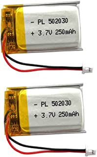 3.7 v li ion battery 250mah