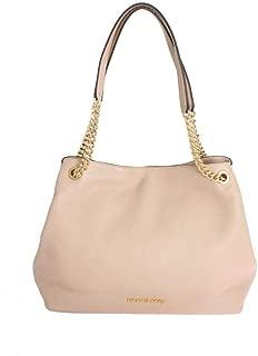 Michael Kors Women's Jet Set Item Large Shoulder Tote Leather Handbag