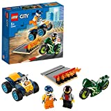 LEGO City Turbo Wheels - Equipo de Especialistas, Set de Construcción, Incluye Quad y Moto...