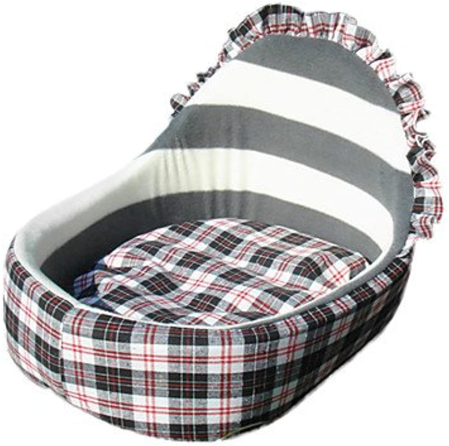 Quick shopping Cradle Style Zebra Soft Lining Bed for Pets Dogs
