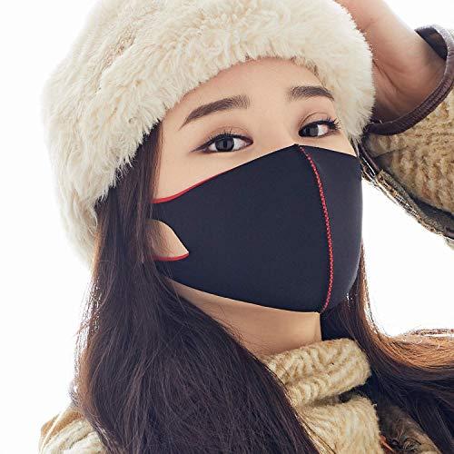 LOOKA | Protective Fashion Air Mask | Washable and Reusable | BAMBAM Red (Small)