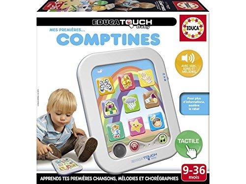 Educa–16049–Spiel Lernspiel–Educa Touch Baby–Meine ersten Abzählreime