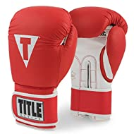 Title Boxing Pro Style Leather Training Gloves 3.0