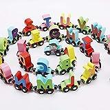 KingbeefLIU 27 Pz/Set Numero Magnetico Alfabeto Animale Mini Trenino Educazione Giocattolo per Bambini Cresce con I Bambini Sviluppa Intelligenza Lettere