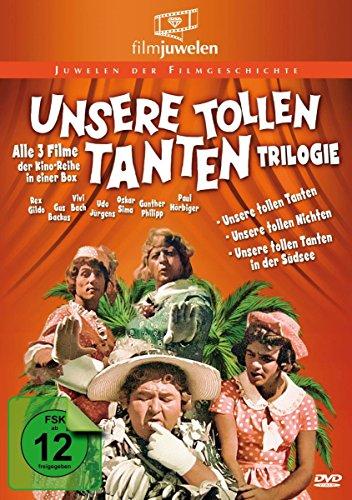 Unsere tollen Tanten Trilogie - Alle 3 Filme der Reihe in einer Box (Filmjuwelen) [3 DVDs]