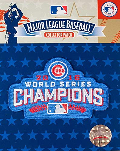Emblem Source 2016 World Series Cubs Champions Patch Chicago Cubs 2016 Champs Jersey Patch