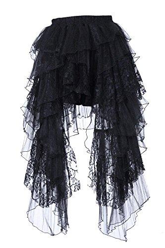 Robe longue style steampunk/rock gothique Modèle 2