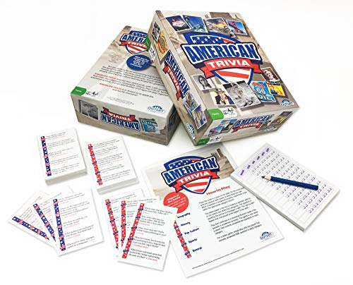 American Trivia Game Amazon Exclusive – 5 Categories to Choose from and 1000 Questions – for Ages 14 and up by Outset Media
