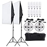 Best Continuous Lighting Kits - Andoer 2000W Photography Studio Lighting Kit, Photography Continuous Review