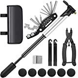 KINSAM Bike Tool Kit Set Portable, Bicycle Repair Kit With Bicycle Multi Tool, Master Link Pliers,2 pcs Tire Lever,...